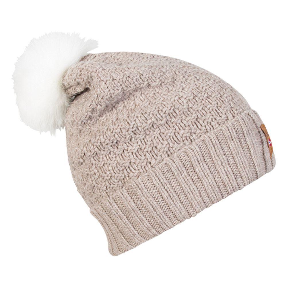 Elegantní dámská čepice z jemné merino vlny