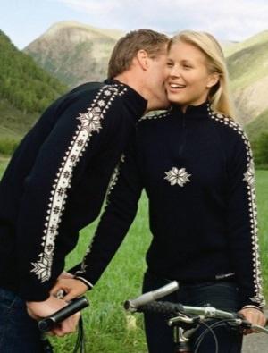 Pánský nadčasovým vlněný svetr Dale Geilo