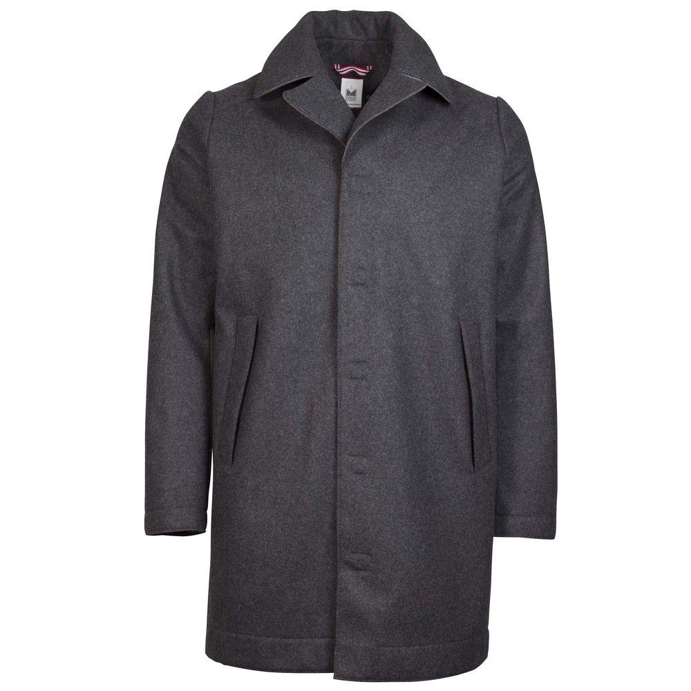 Vlněný větruvzdorný kabát