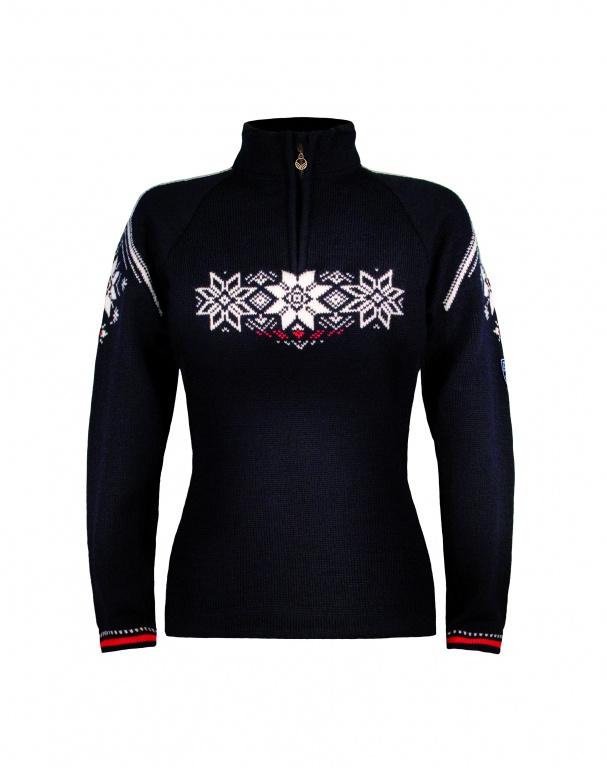 Dale Holmenkollen feminine sweater. svetr, dámský
