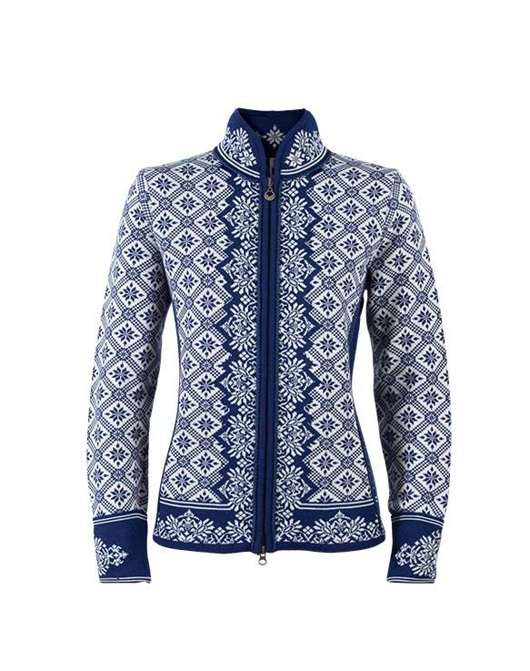 Dámský originální svetr z merino vlny Dale Christiania